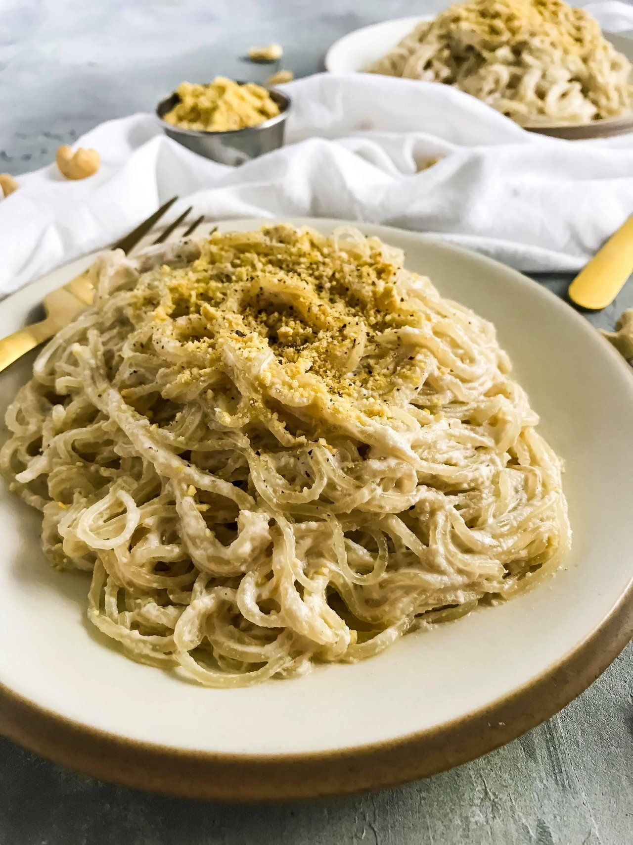 Raw Vegan Creamy Alfredo Sauce Recipe Kelp Noodle Hack Food Photography Steemit In 2020 Vegan Alfredo Raw Food Recipes Recipes