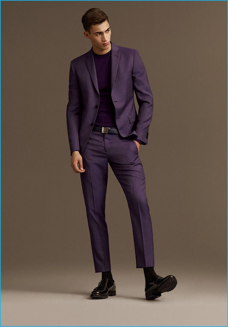 Versace 2016 Fall/Winter Men's Lookbook | Bold, Versace and Suits