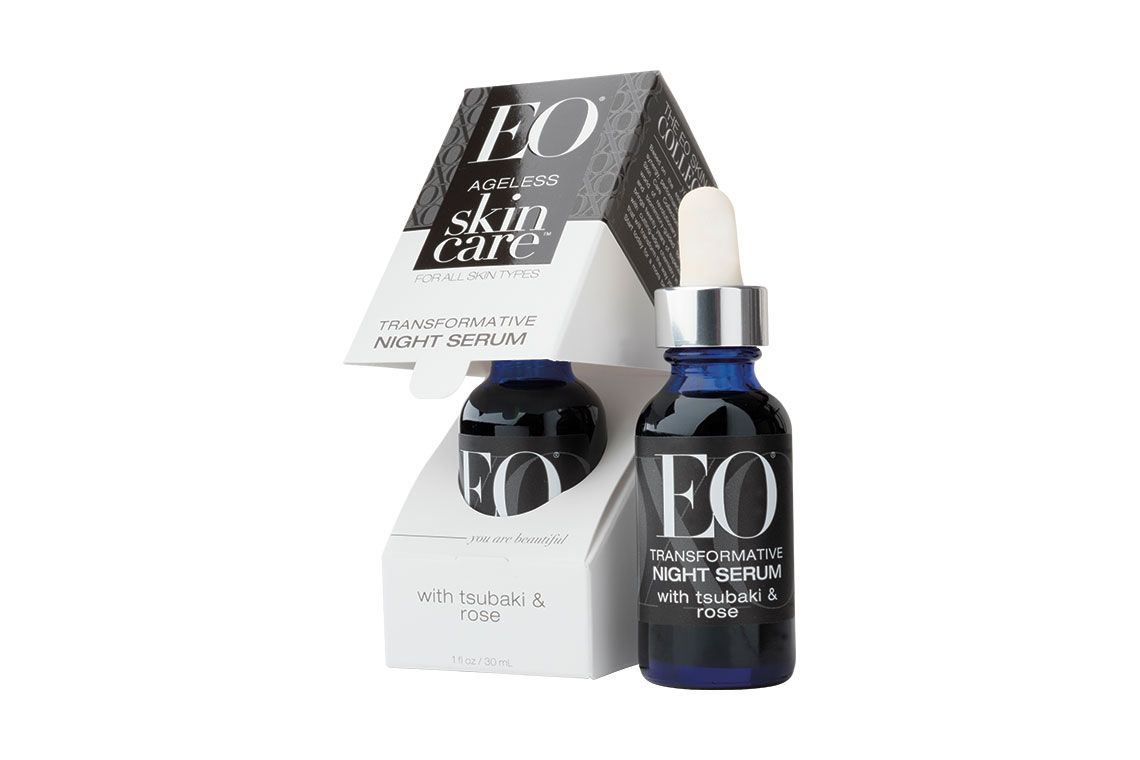 Eo Ageless Skin Care Transformative Night Serum With Tsubaki And Rose Honestly Transformative Night Serum Wit Night Serum Amazing Cosmetics Organic Botanical