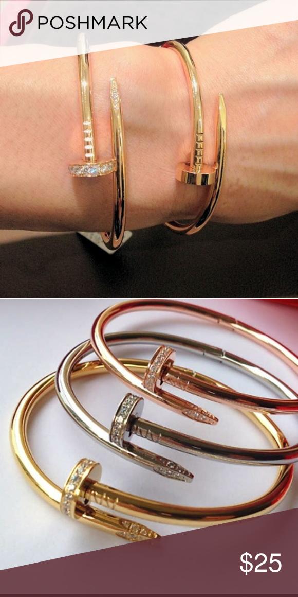 c5b25d412d3b9 Gorgeous Nail bracelet bangle Beautiful brand new Cartier Nail ...