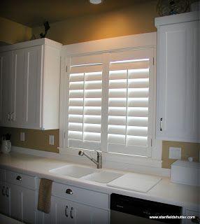 Kitchen Curtains Above Sink Farmhouse