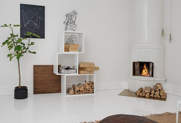 Houten Kubus Kast Refurbish In 2019 Scandinavian Home