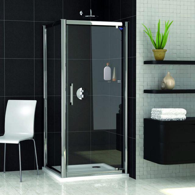 Showerlux Legacy Pivot Door Shower Enclosure - £263.23 & Showerlux Legacy Pivot Door Shower Enclosure - £263.23 | Gielen ...