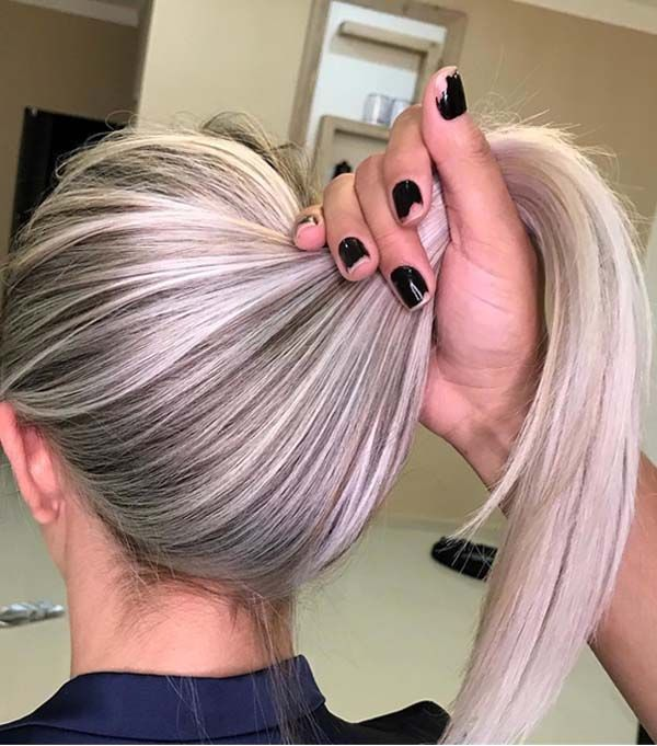 Tips On Blending Great Colors With Beige: 42 Adorable Hairline Blended Highlights To Wear In 2018