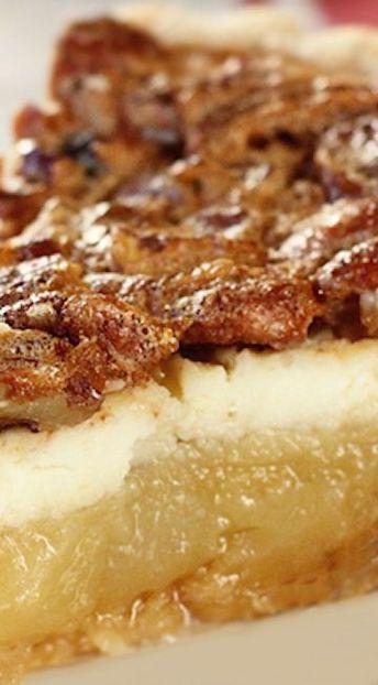 Cream Cheese Pecan Pie - Southern Bite