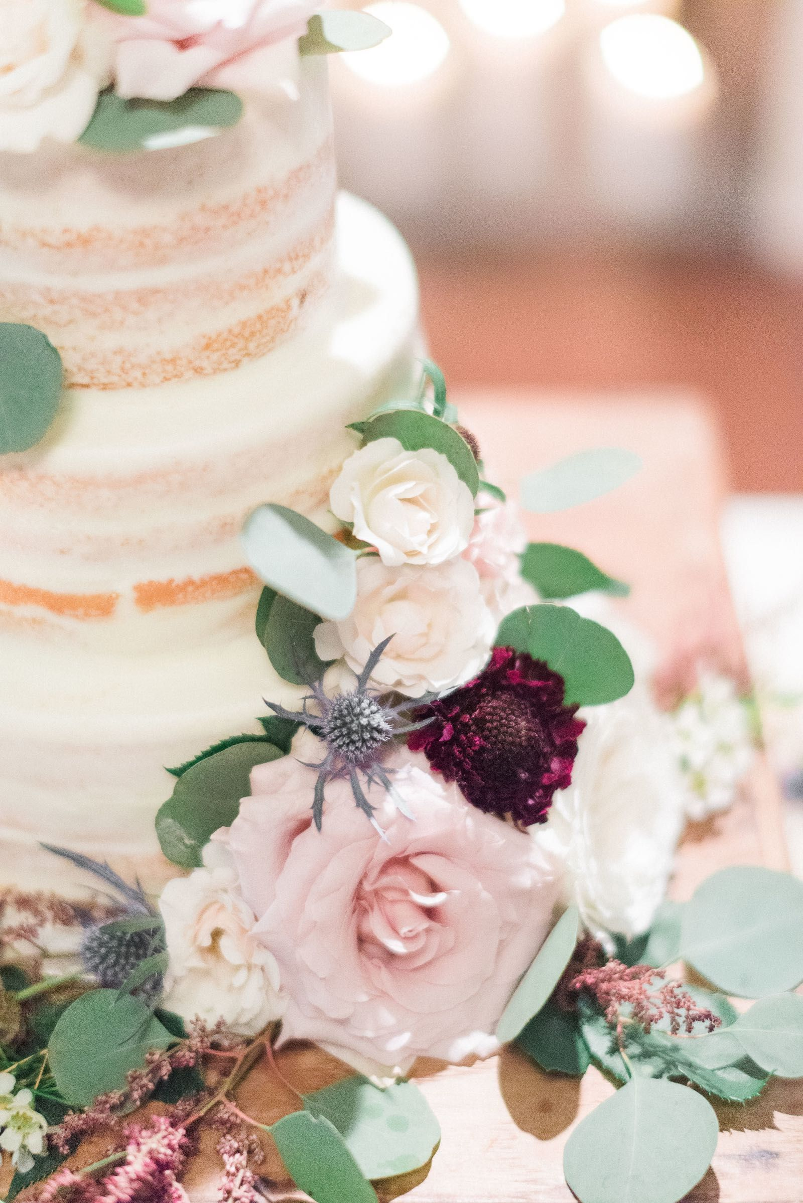 Secret spring garden wedding cake floral design cedarwoodweddings