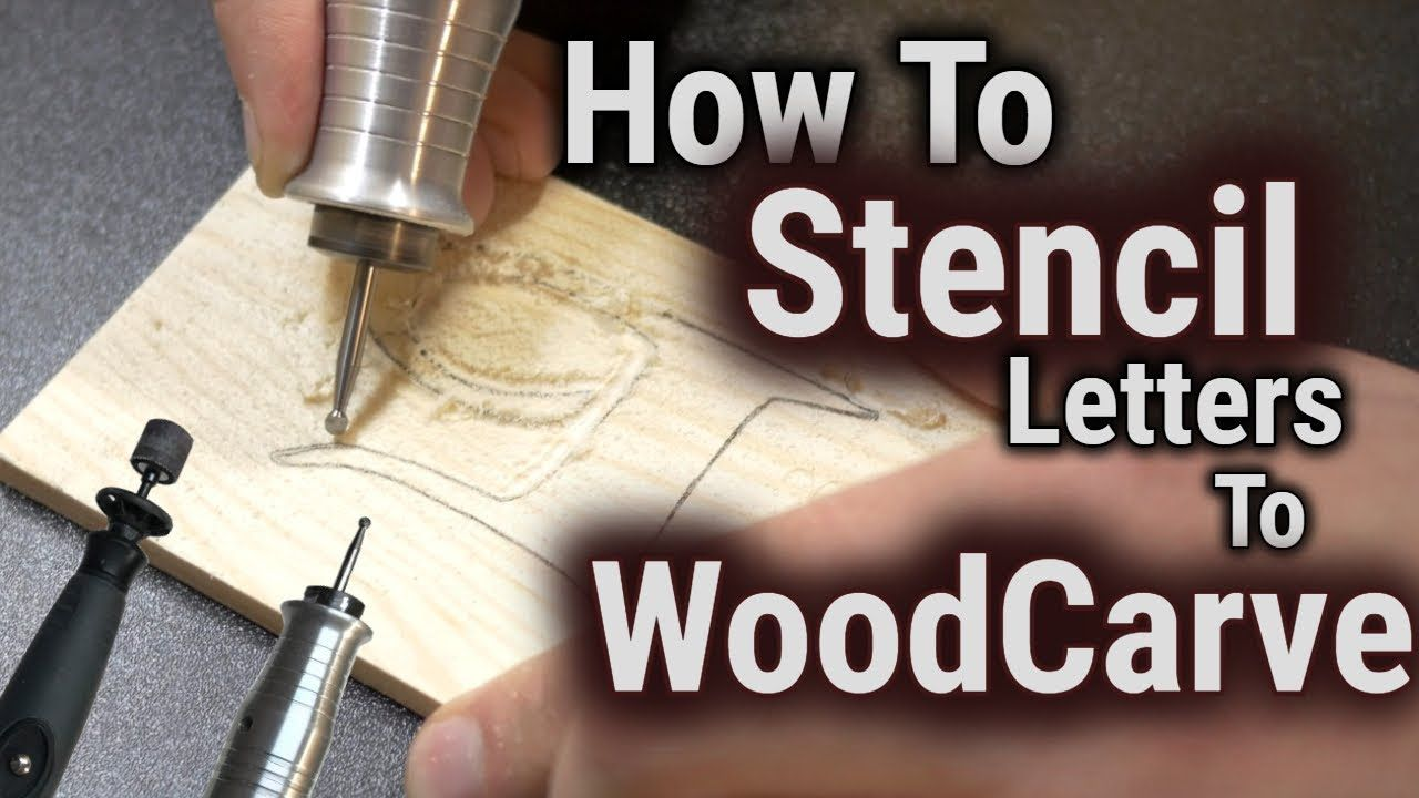 How To Wood Carve Power Carve Stencil Letters Wood Carving Patterns Dremel Wood Carving Dremel Carving