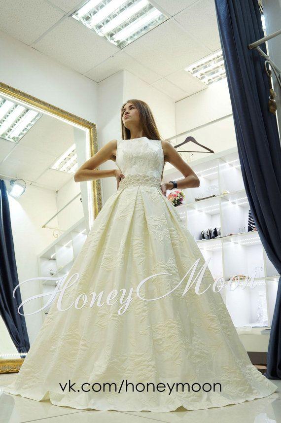 Enigma wedding dress Ballkleid von myHoneymoonDress auf Etsy