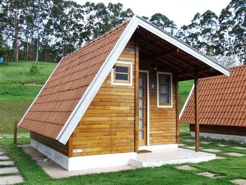 Como fazer uma casa de madeira simples http//www