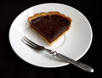CHEZ LUCIE: Čokoládový koláč s karamelem
