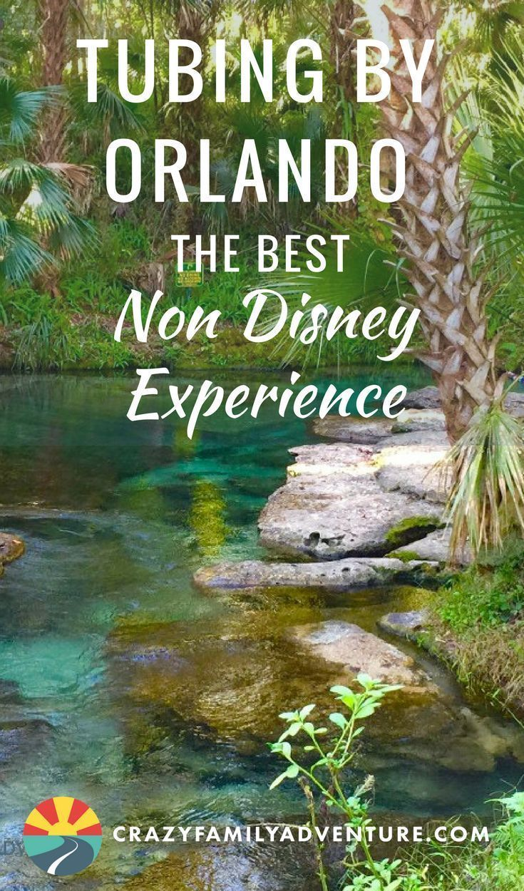 Tubing By Orlando The Best Non Disney Experience -   13 travel destinations Florida trips ideas