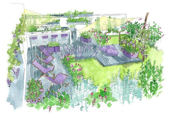 Conseils de paysagiste un jardin gourmand gardens for Decor paysagiste jardin