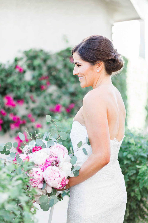 72ad20f9 Bridal portrait for a Vibrant Winter Wedding at Omni Rancho Las Palmas,  Cavin Elizabeth Photography
