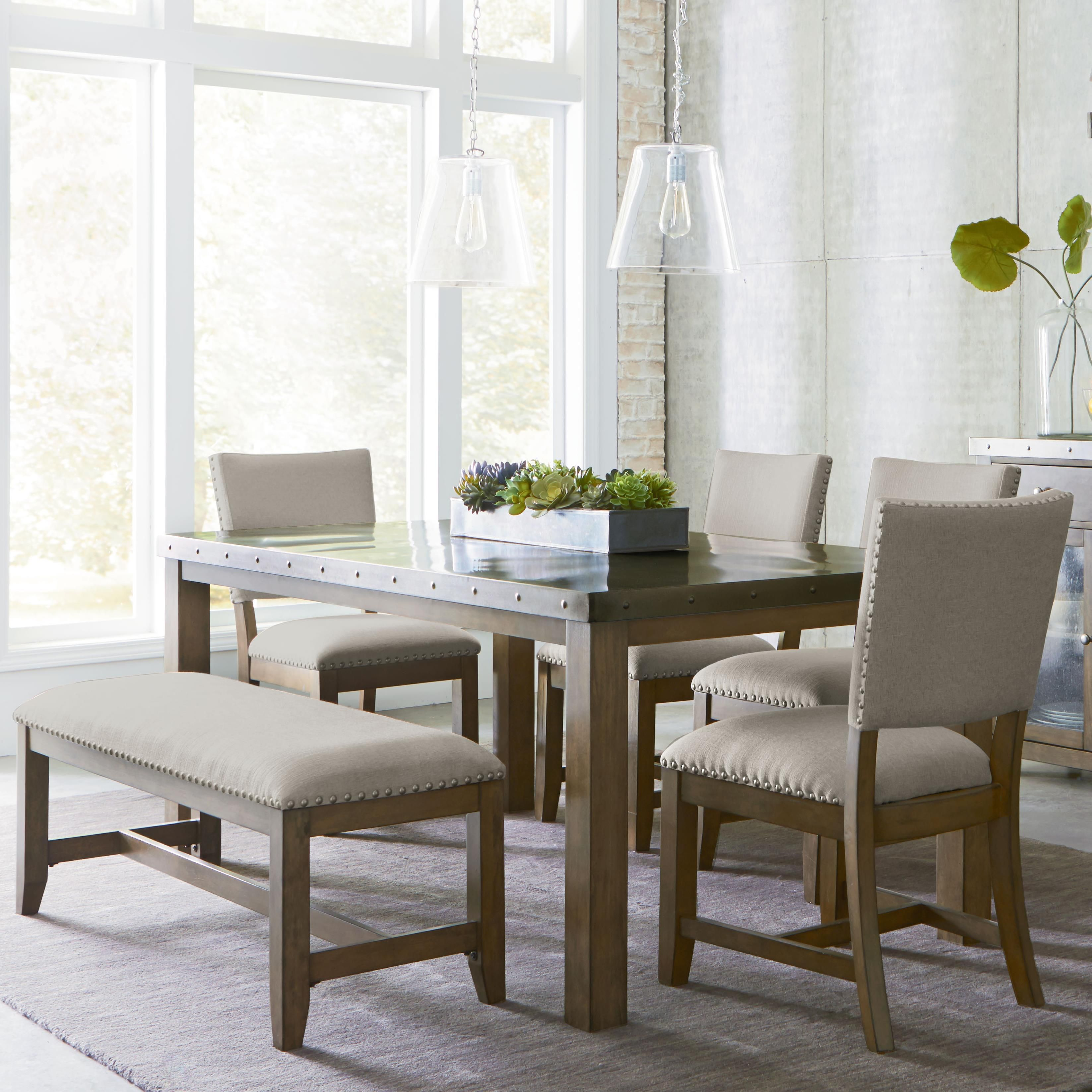 Magnificent This Stainless Steel Top Table Dining Set Is The Perfect Uwap Interior Chair Design Uwaporg