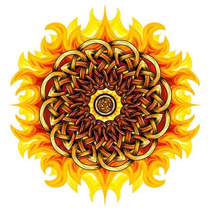 Image result for fire mandala