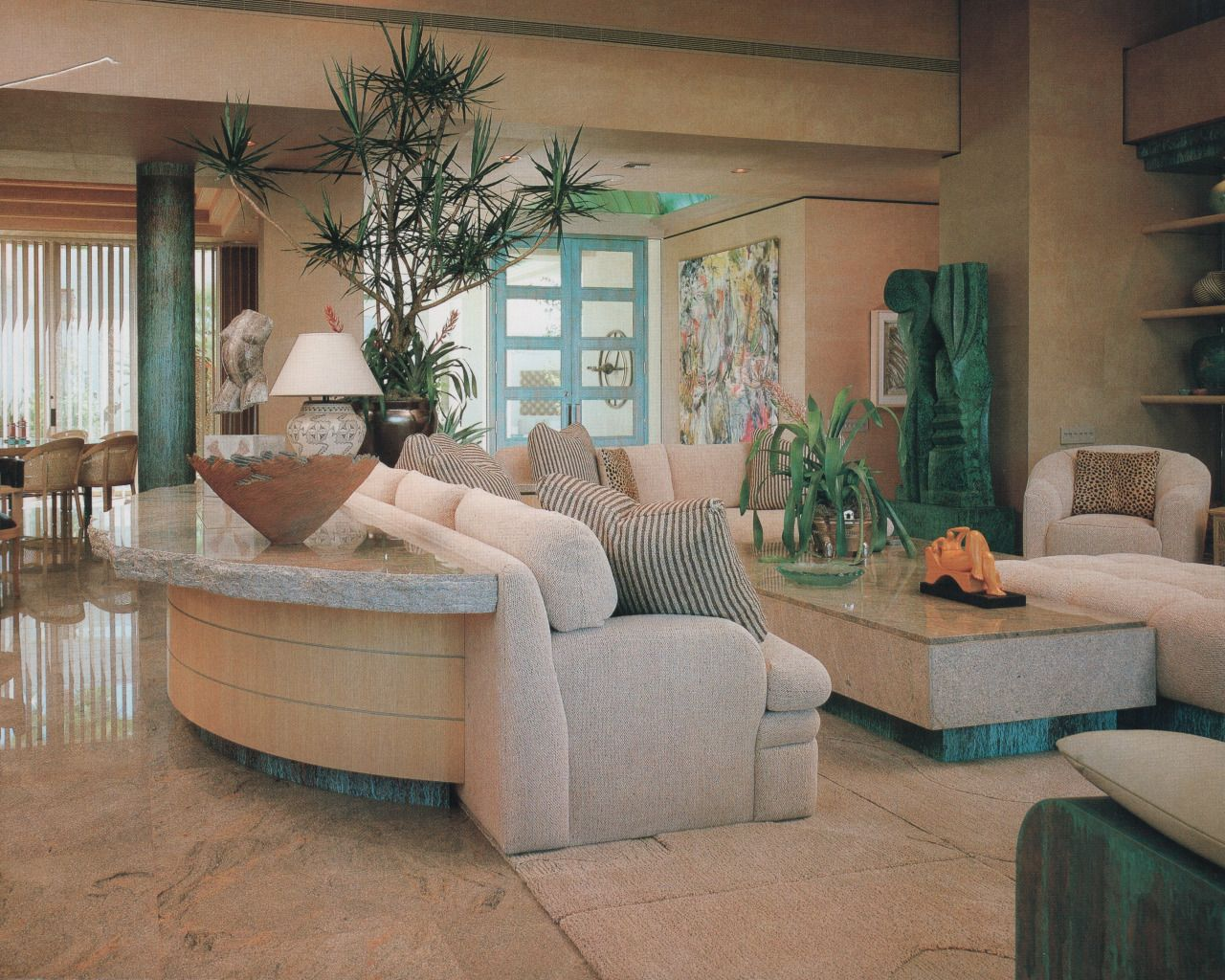 From Showcase Of Interior Design Pacific Edition 1992 With