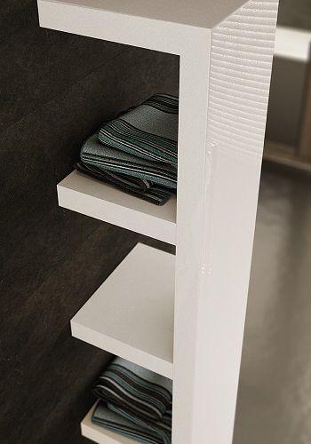 Quadraqua, Radiateur Sèche-Serviettes Design Eau Chaude, Irsap. 2