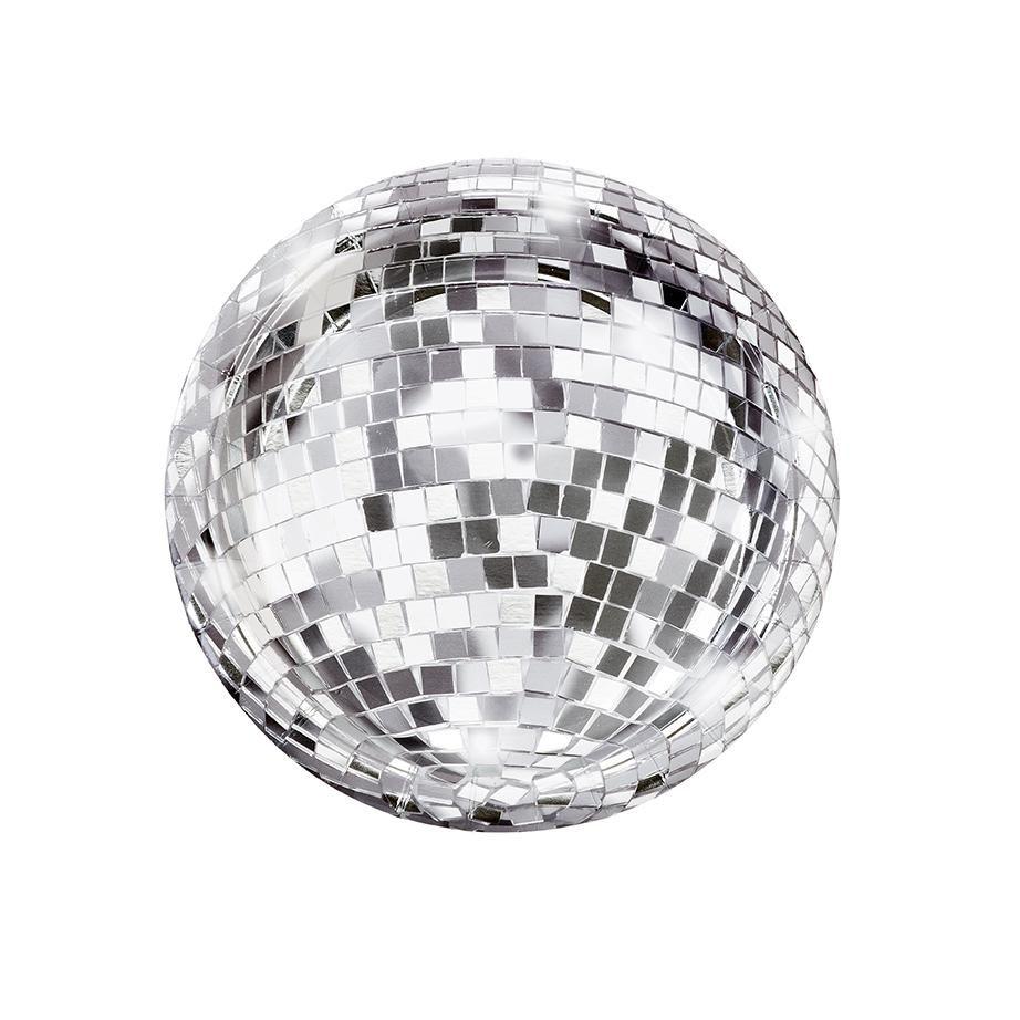 Glitterati Disco Ball Paper Plates In 2020 Paper Plates Party Disco Ball Party Plates