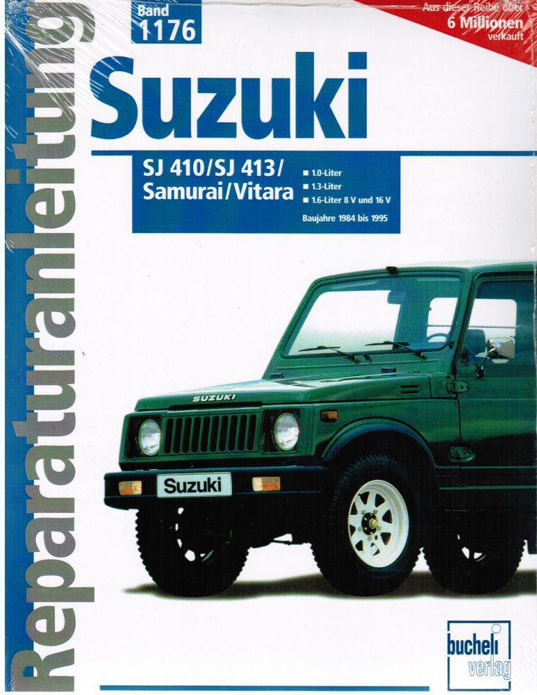 Libro Manual De Reparacion Suzuki Samurai Sj 410 Sj 413 Vitara Banda 1176 Libros Libros De Texto Educativos Ebay Suzuki Samurai Suzuki Sj 410 Suzuki