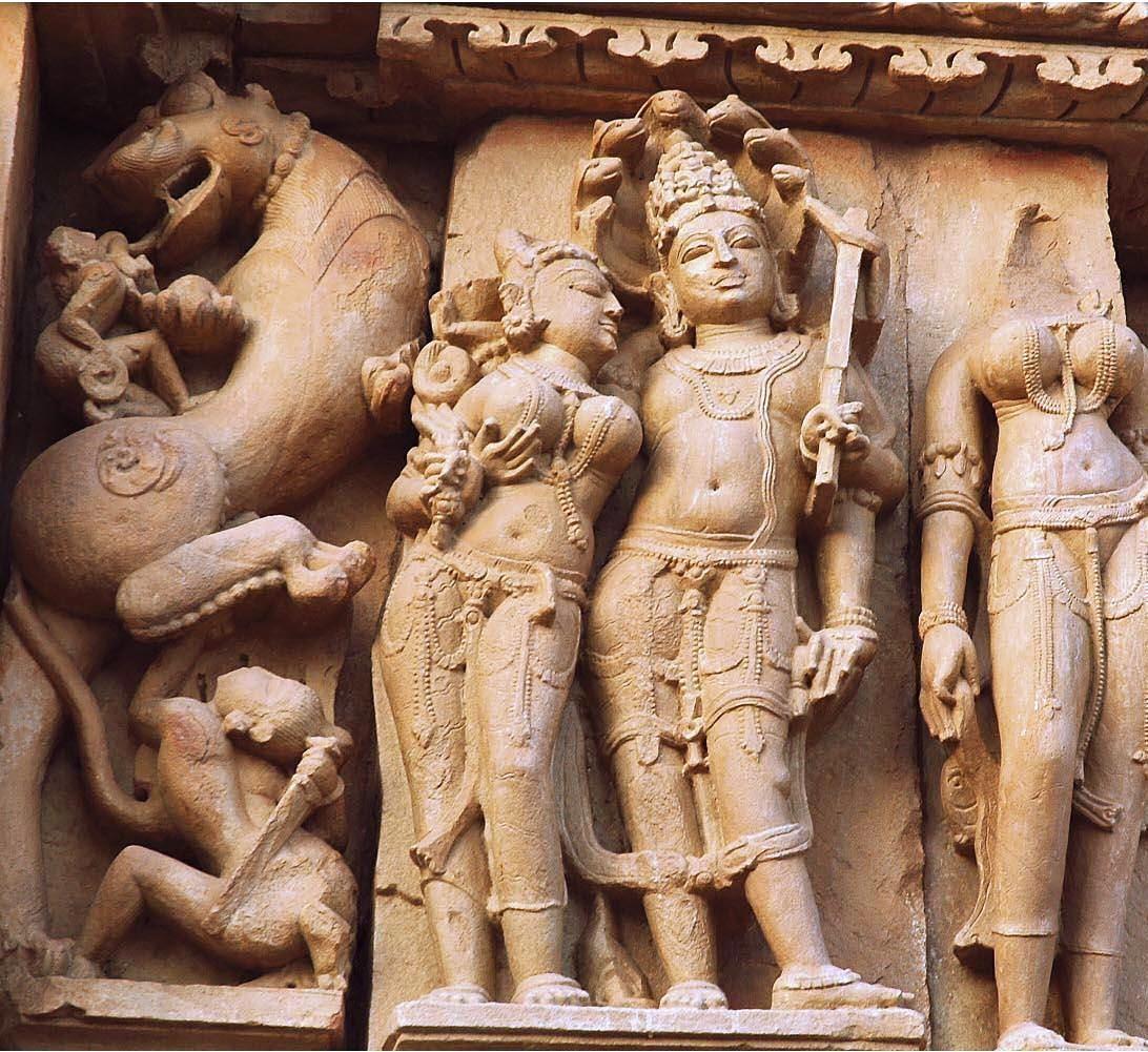 Balarama and Revati, Krajuharo temple.