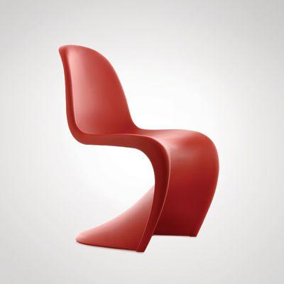 Verner Panton Panton Chair verner panton chair curve mid century modern style modern decor
