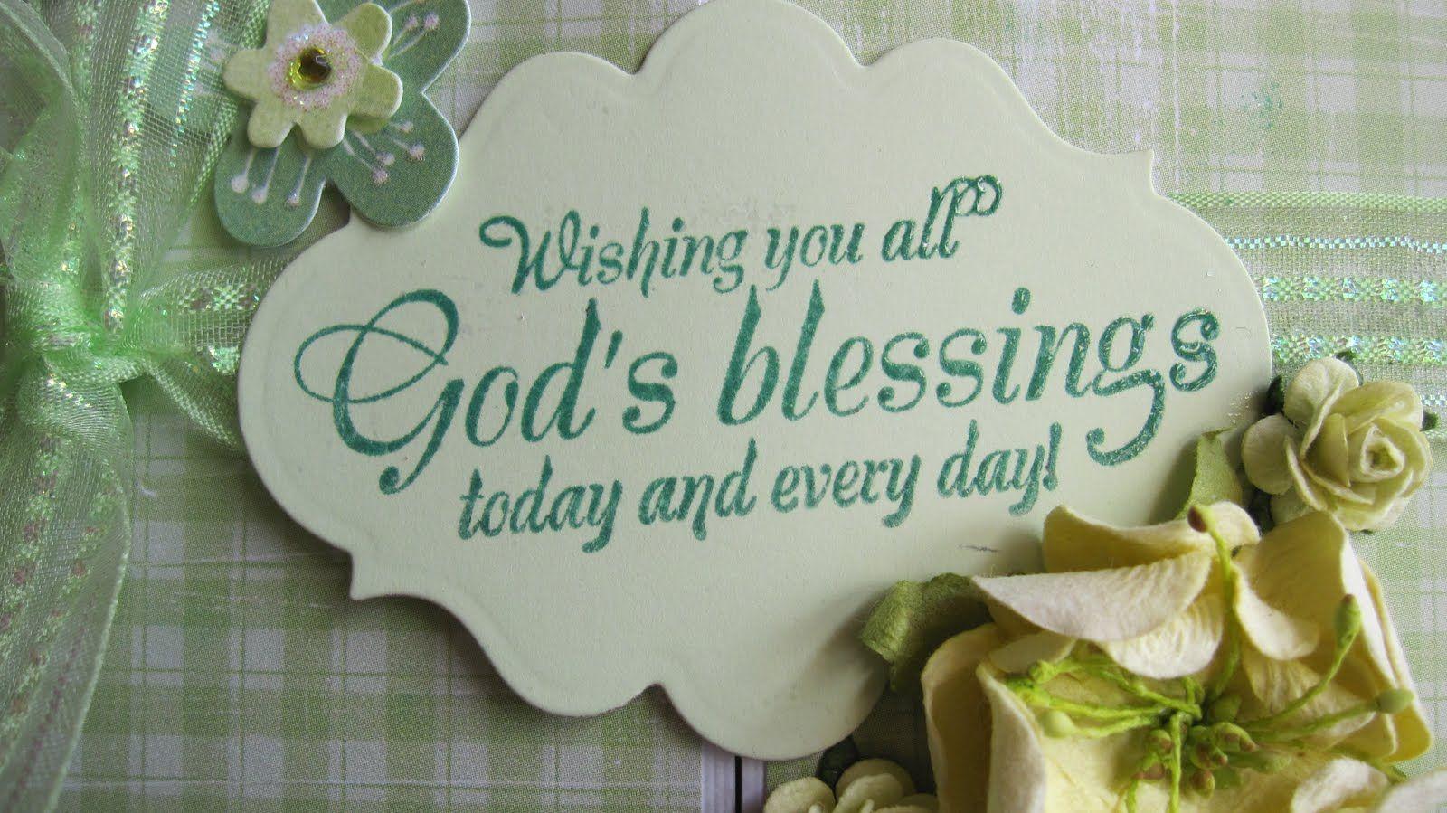 Blessings Blessed Christian Devotions Morning Blessings