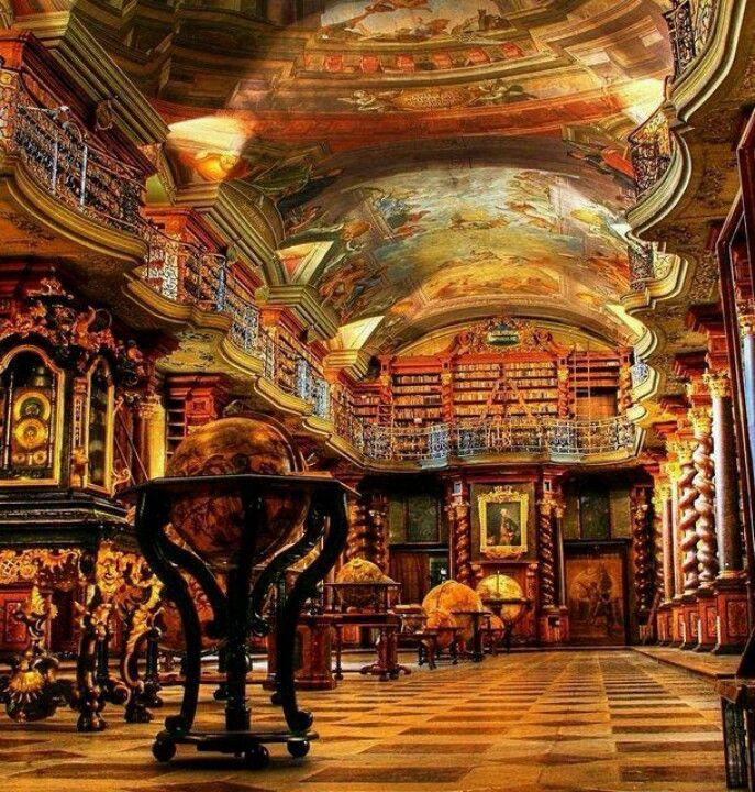 Klementinum Library - Prague