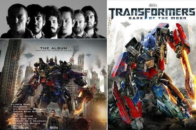 Transformers Soundtrack Linkin Park