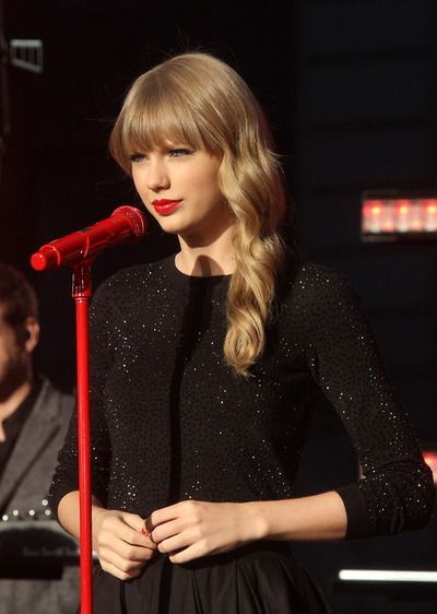 Red Microphone My Favorite Color Taylor Swift 13 Taylor