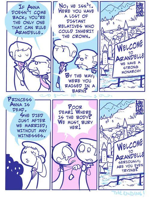 Frozen Alternate Endings Part 2