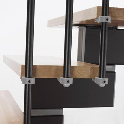 Best Details Of The Stilo Modular Staircase Kit Showing The 400 x 300