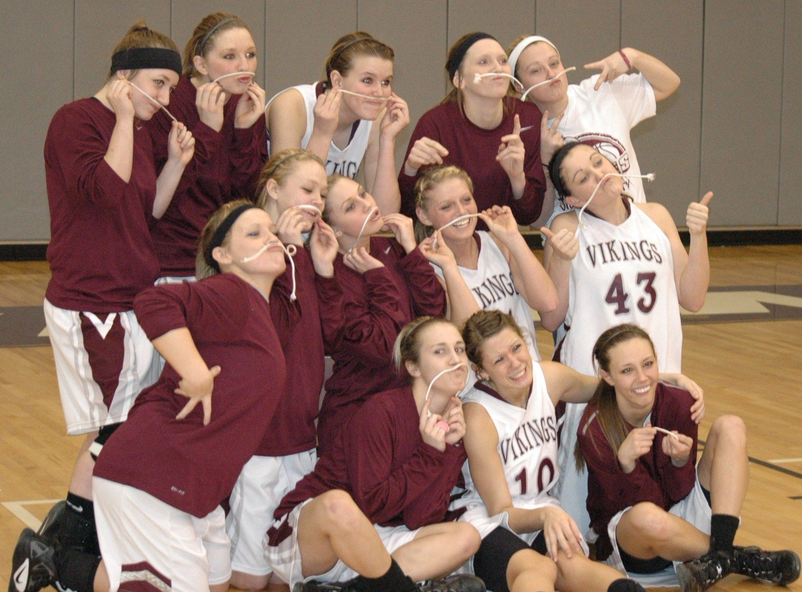 The Vinton County High School Girls Varsity Basketball Team Is Co Tvc Champions After Its Win Over Meigs On Senior Nigh Basketball Teams Teams Basketball Girls