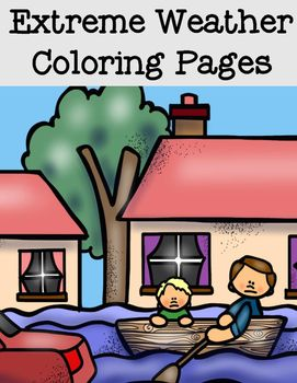 Free Extreme Weather Coloring Pages Extreme Weather Student Images Coloring Pages