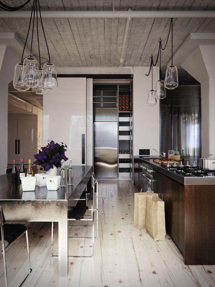 Diseños cocinas pequeñas modernas - cincuenta modelos -   Muebles de ...