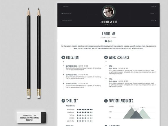 Personal Resume Professional Personal Resume  Pinterest  Template Business Resume .