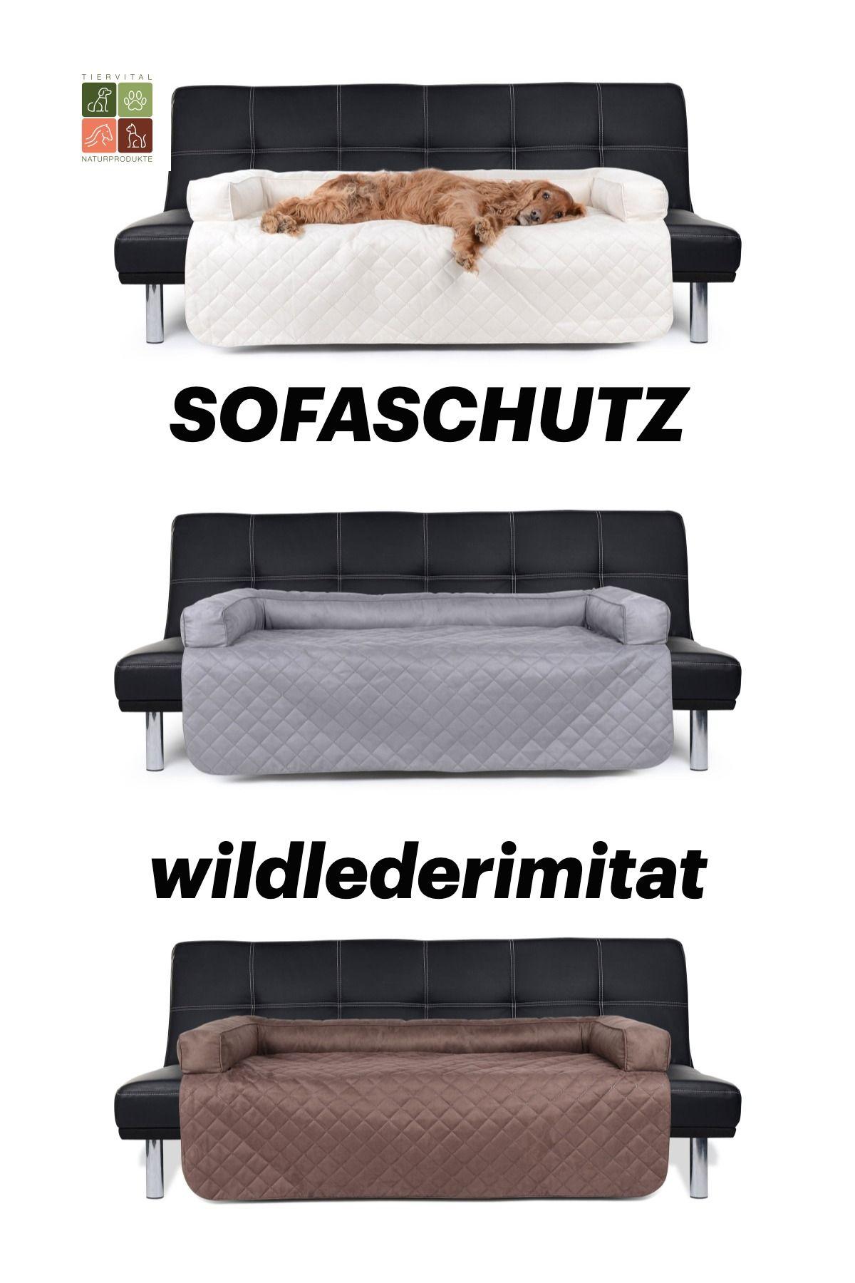 Sofaschutz Dakota Wildlederimitat In Trendigen Farben In 2020 Sofaschutz Hundekissen Hunde Kissen