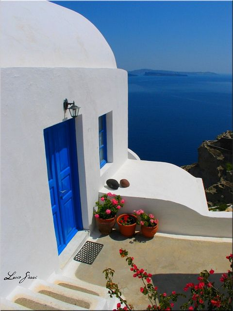 This is my Greece | Typical architecture in the island of Santorini