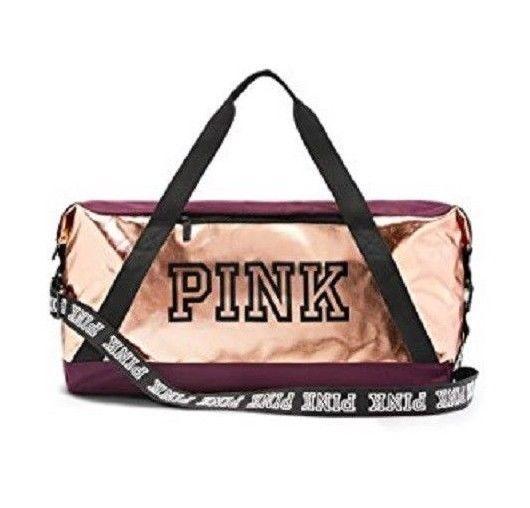 c24b190f75ab NEW Victoria s Secret VS PINK 2018 Weekender Duffle Gym Bag