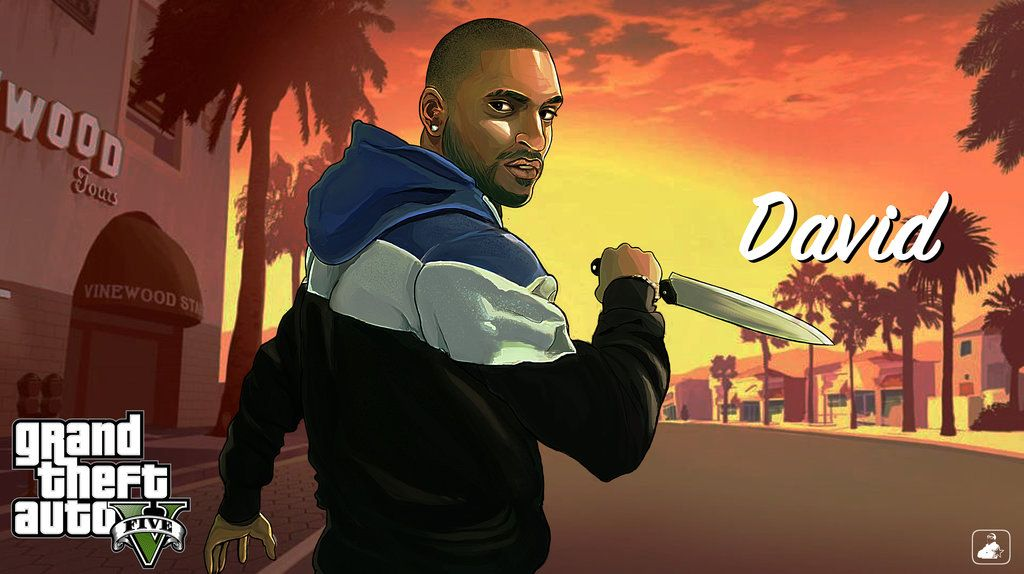 Gta V Fan Art David By Daviddimitridolce Avec Images Jeux