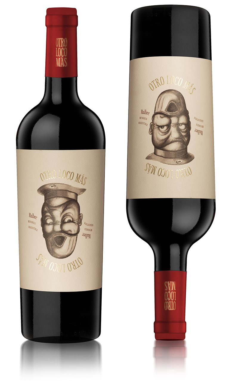 Arena Bahamonde Diseno De Etiqueta De Vino Wine Label Design