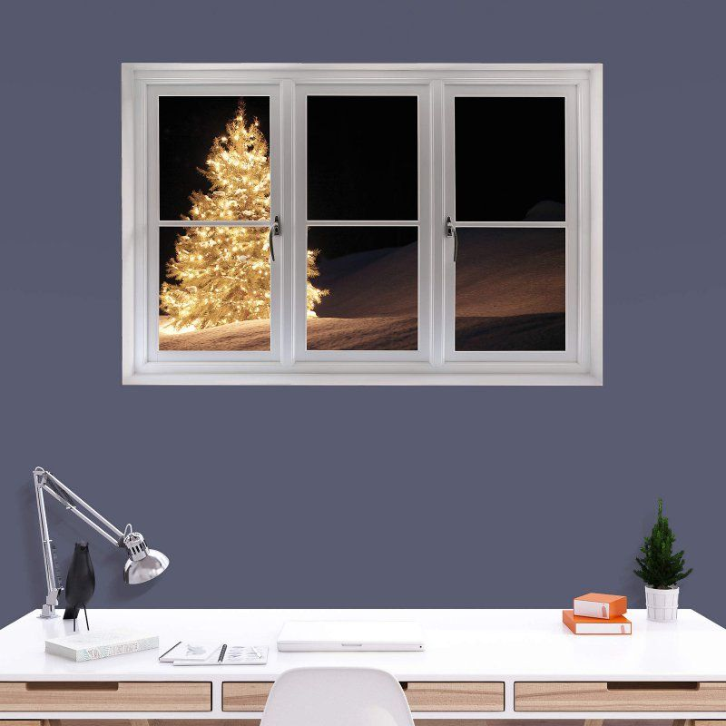 Fathead Christmas Tree with Lights Instant Window Wall Decal - 69 ...
