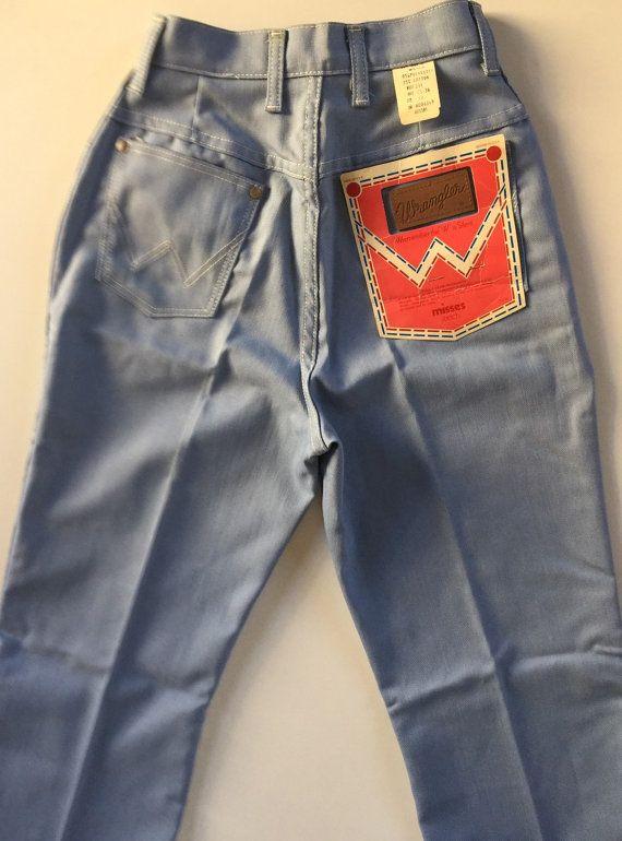dc12658a 60s-70s Wrangler Deadstock Mod Jeans | Vintage Wranglers in 2019 ...