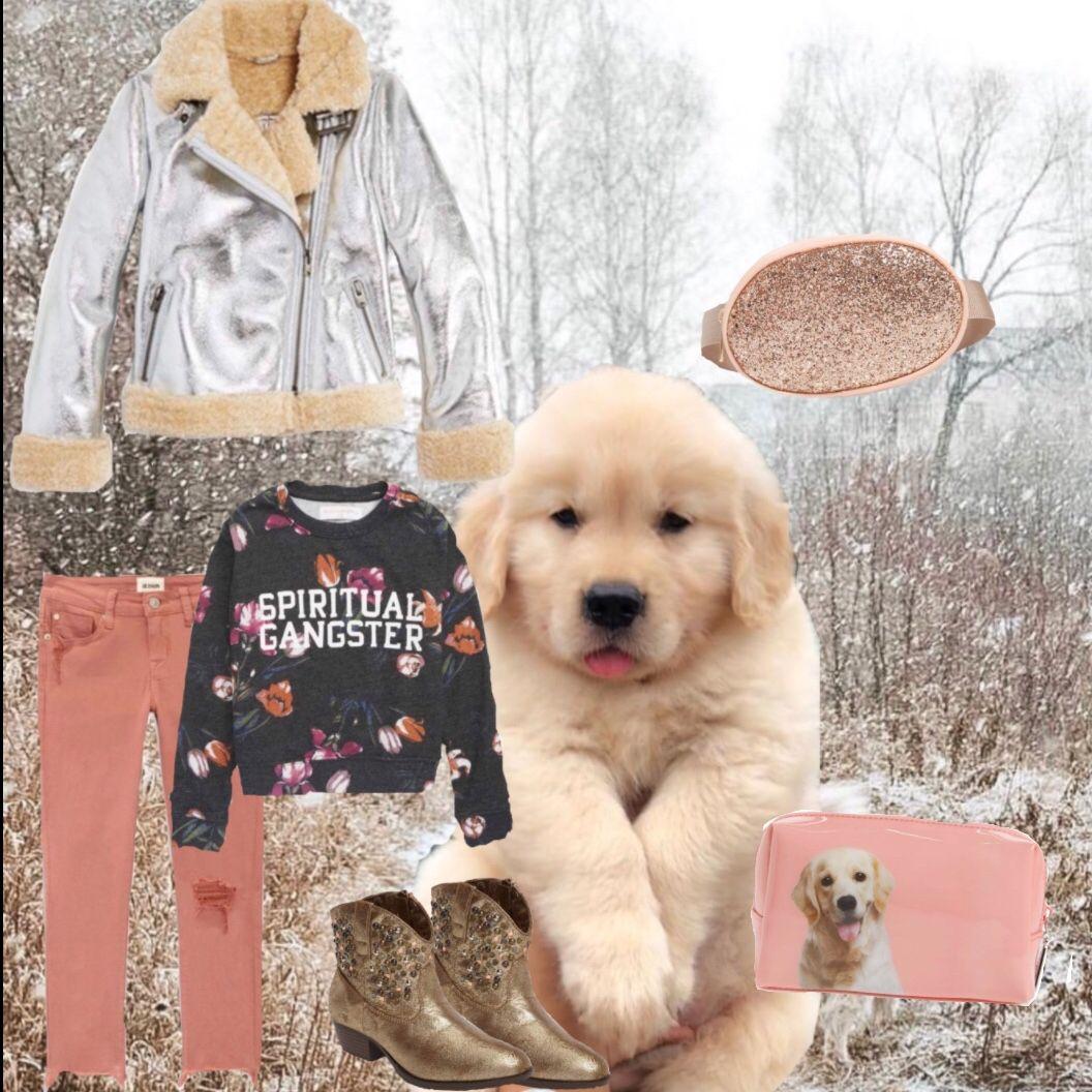 Keep Cozy Warm Happy And Winter Golden Tween Girls Teenage