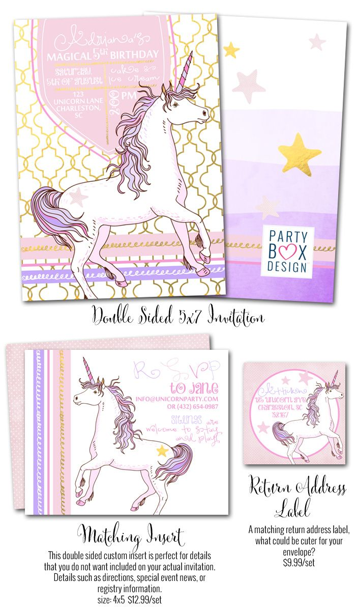 Pastel Unicorn-Pastel Unicorn, unicorn birthday party invitations ...
