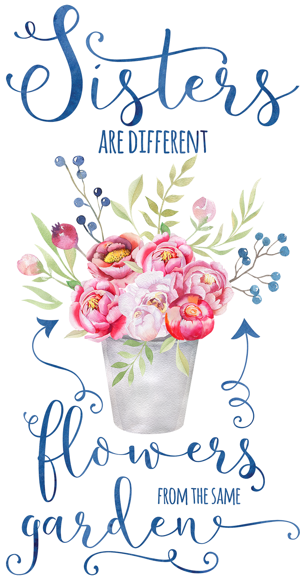 Image result for quotes on sisters are flowers from the same garden
