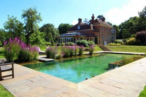 Outdoor natural pools clear water revival swimming pool builders natural pools natural Natural swimming pool builders