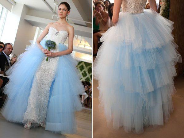 Oscar De La A Wedding Dresses