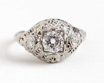 Image Result For Art Deco Jewelry 1920 · Engagement Rings SaleAntique ...
