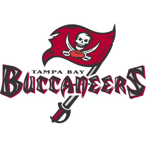 Custom or design tampa bay buccaneers logo iron on decals stickersheat transfers for