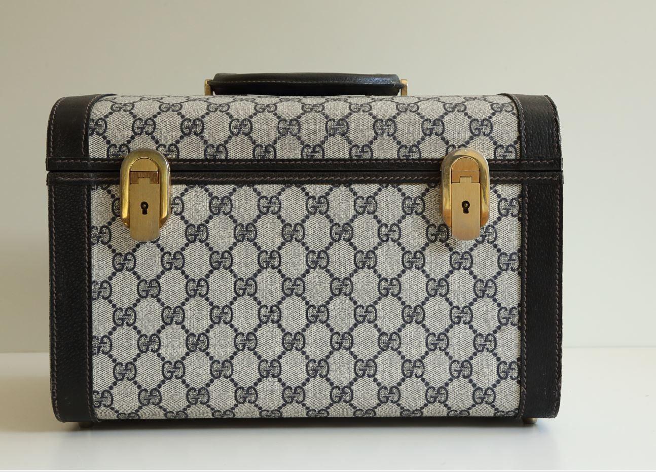 c1ca0aaea96ff Gucci Vintage Beauty Vanity Case ca. 1980s | Vintage Bags | Beauty ...